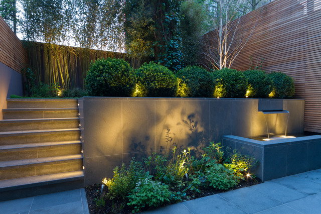 College crescent contemporary garden london by for Davies landscape architects
