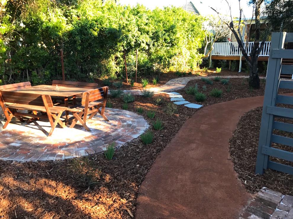 Compacted Gravel Path Through Native Garden - Rustic ...