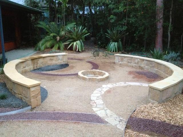 Contemporary Australian Native Garden