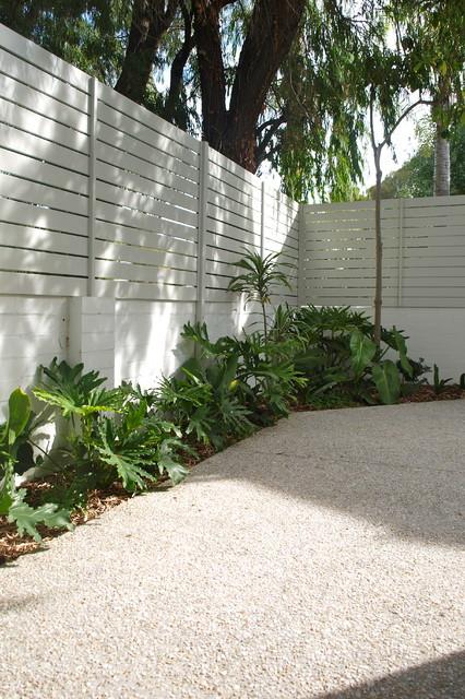 Contemporary garden cottesloe perth contemporary for Garden design perth