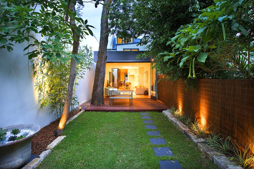 The Jesmon Terrace small backyard idea is a landscape which is perfect for those that are on a budget