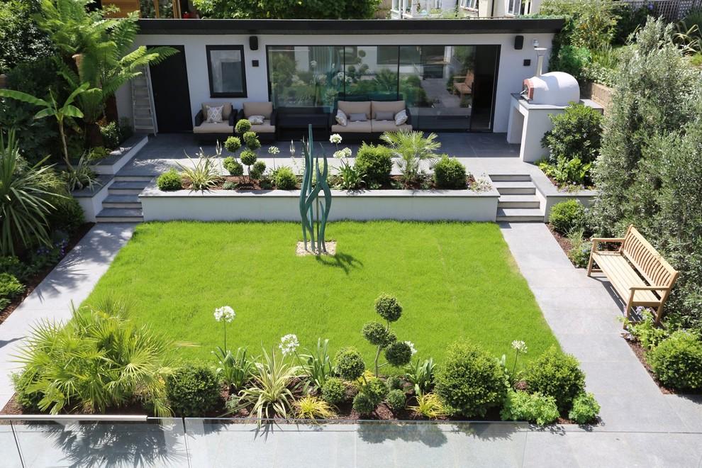 Contemporary Garden Landscaping In Richmond Modern Landscape