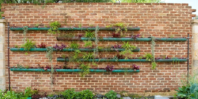 copper vertical garden Contemporary Landscape Perth