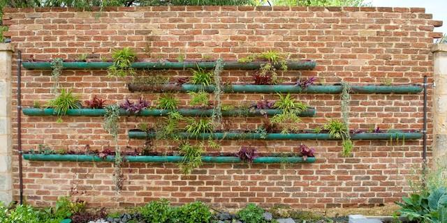 Copper Vertical Garden Contemporary Landscape Perth