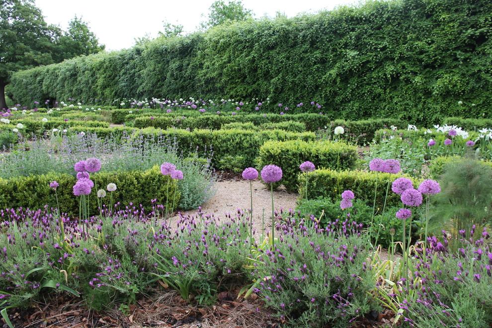 Rural full sun garden in London.