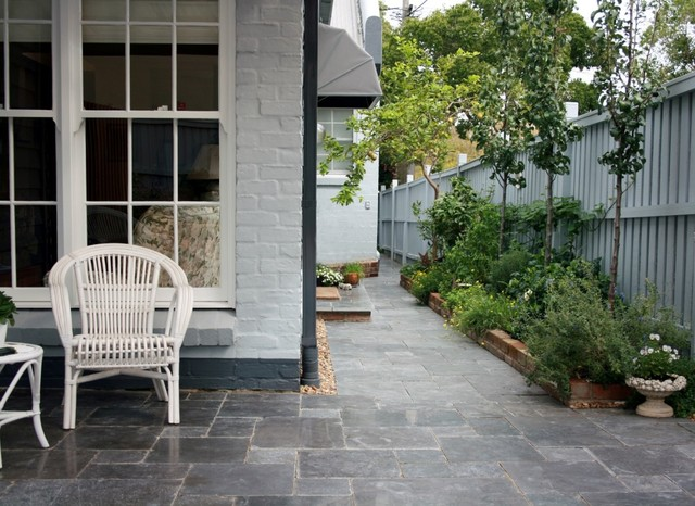 Courtyard Creation North Sydney Traditional Landscape