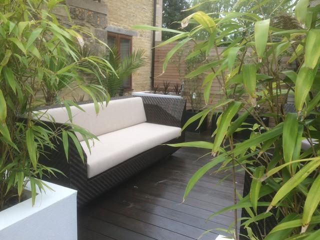 Courtyard garden bath contemporary landscape for Landscape architects bath