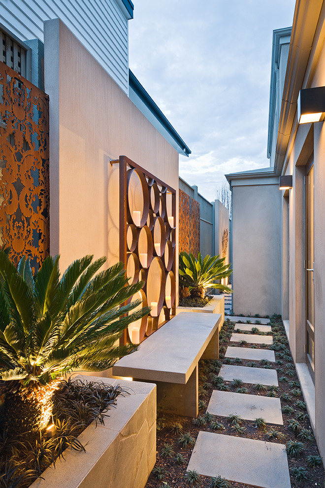 This is an example of a contemporary landscaping in Melbourne.
