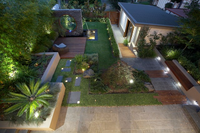 Eastern Influence Contemporary Landscape Sydney By