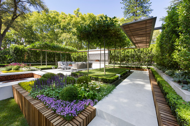 39 equilibrium 39 by nathan burkett design contemporary for Garden designs melbourne