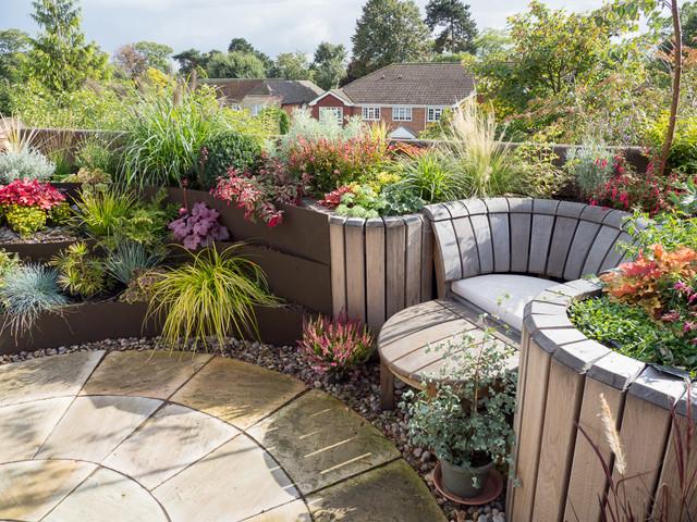 Essex Roof Top Garden Design Traditional Landscape London