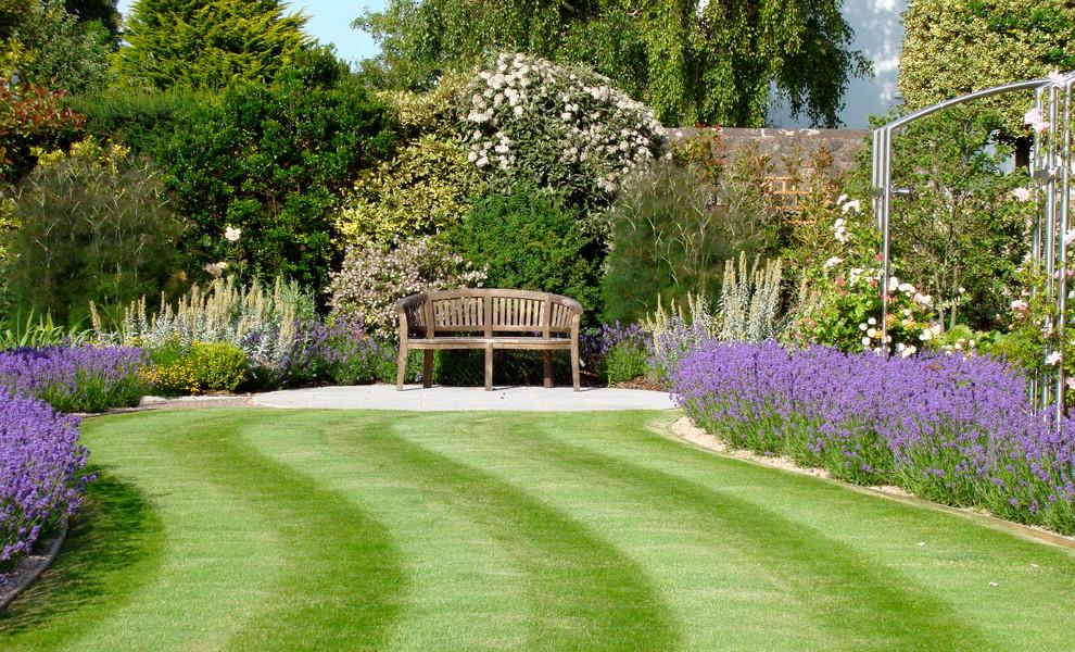 Estuary Garden - Traditional - Landscape - Devon - by ...