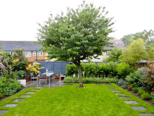 Family Garden traditional-landscape