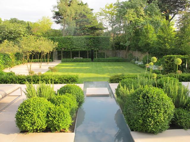 Formal structural garden contemporary garden london by