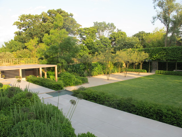 Formal Structural Garden - Contemporary - Landscape - London - By Charlotte Rowe Garden Design