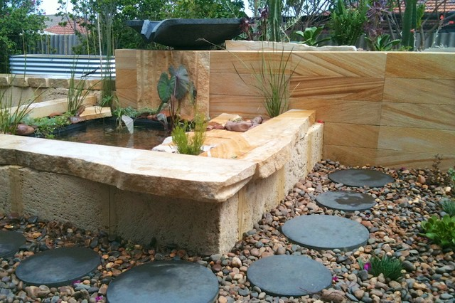Photo Of A Beach Style Garden In Perth.