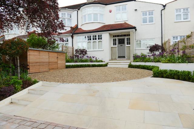 Front Garden - Court Lane contemporary-landscape