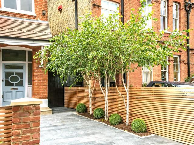 Front Garden Design Calton Avenue London 3 Contemporary