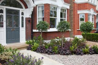 Front Garden Design Turney Road Modern Landscape London By Kate Eyre Garden Design Houzz