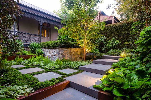 Front Garden Journey - Contemporary - Garden - Melbourne ...