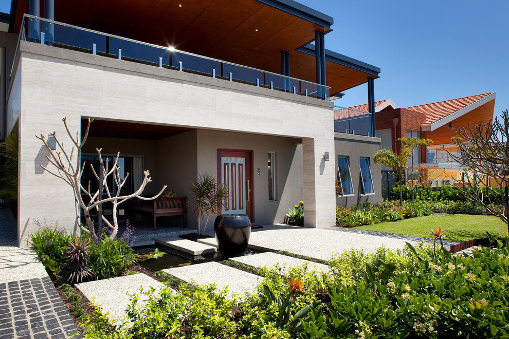 Front Yard Design - Contemporary - Landscape - Perth - by ...
