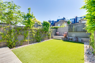 75 Most Popular Garden With Decking Design Ideas For November 2020 Stylish Garden With Decking Remodeling Pictures Houzz Uk