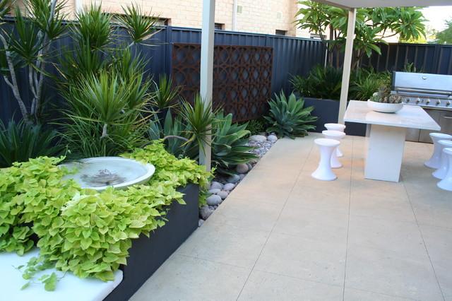 Garden Design 1 - Tropical - Garden - Perth - by Evolve ...
