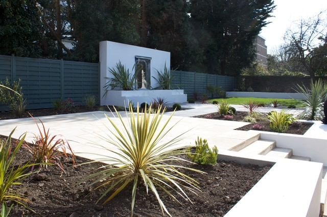 Landscape And Garden Design Property Garden Design To New Build Property  Sneyd Park Bristol  Modern .