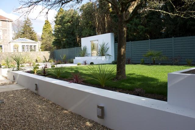 Garden Design To New Build Property