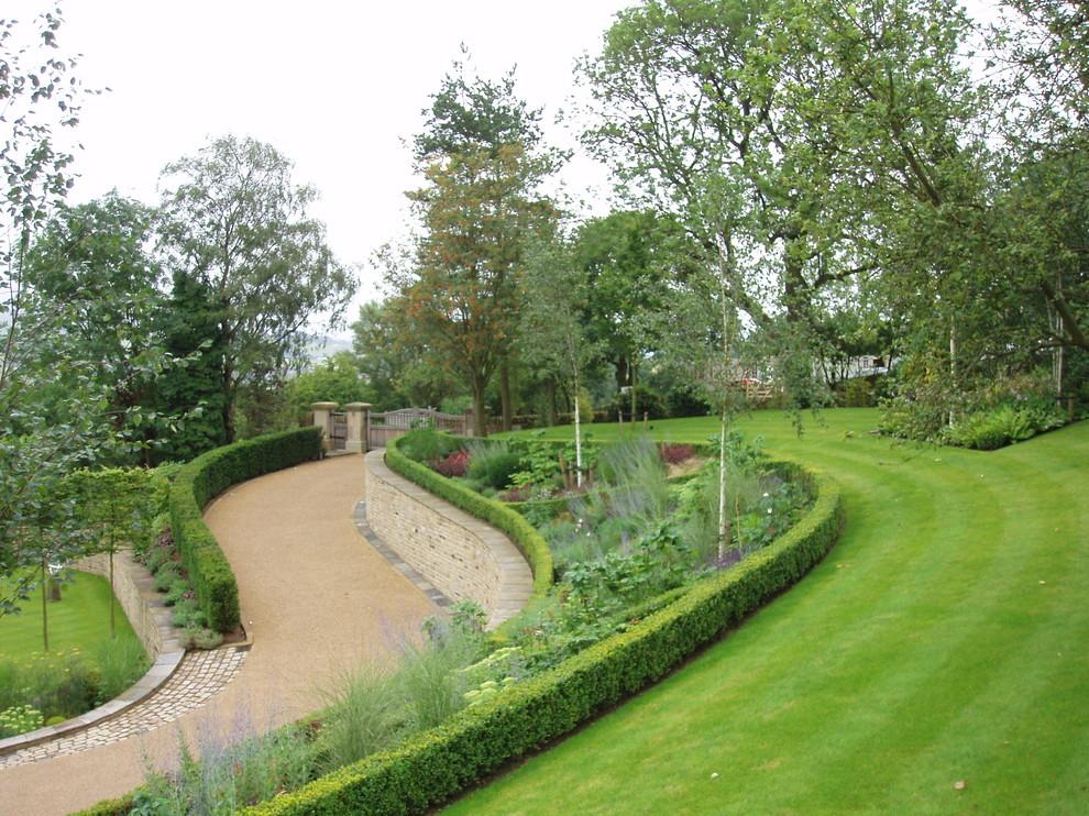 Garden in the Hills - Farmhouse - Landscape - Cheshire ...