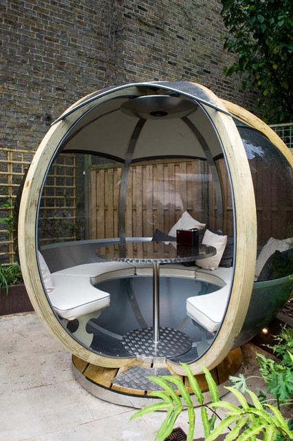 Garden Pod Seating Modern Garden London By Earth