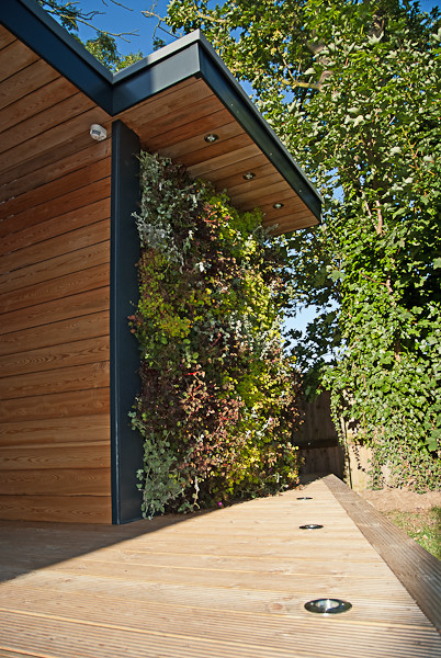 Garden room in kent contemporary landscape london for Garden rooms kent