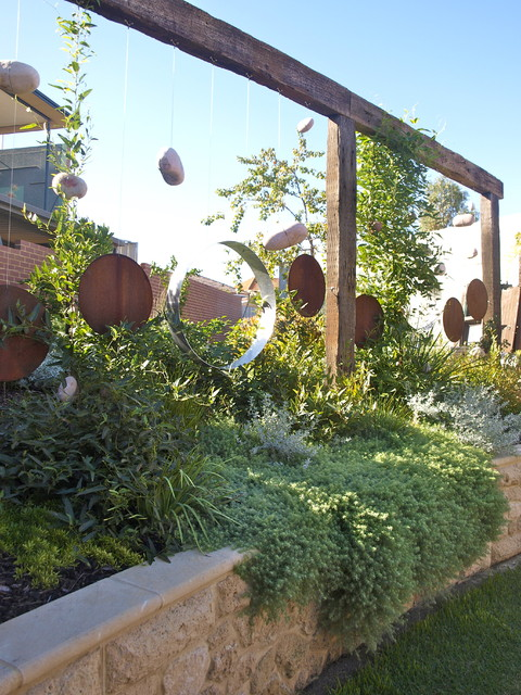 Garden Screen Eclectic Landscape perth by