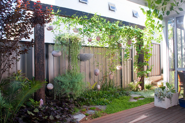 Eclectic Garden By Sustainable Garden Design Perth