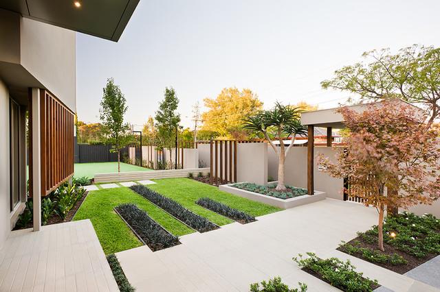 Garrell Street COS Design Contemporary Landscape