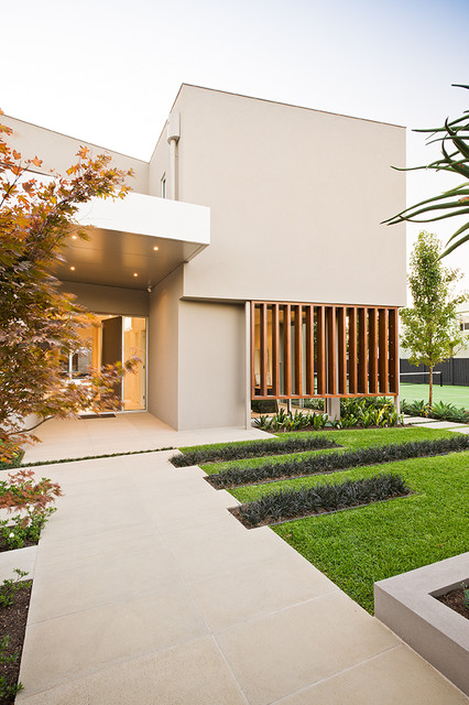 Garrell Street COS Design Contemporary Landscape Melbourne By C O S