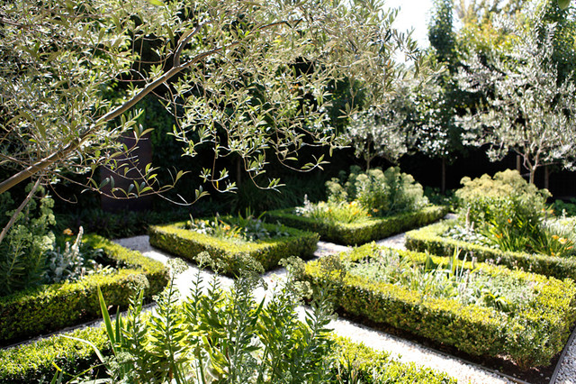 Glen iris project traditional garden melbourne by for Barker landscape architects