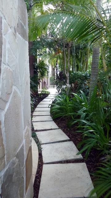 H residence sanctuary cove contemporary landscape for Landscape architect gold coast