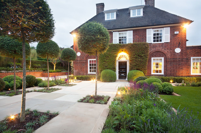 Hampstead Garden Design Traditional Landscape London By - Traditional garden design pictures
