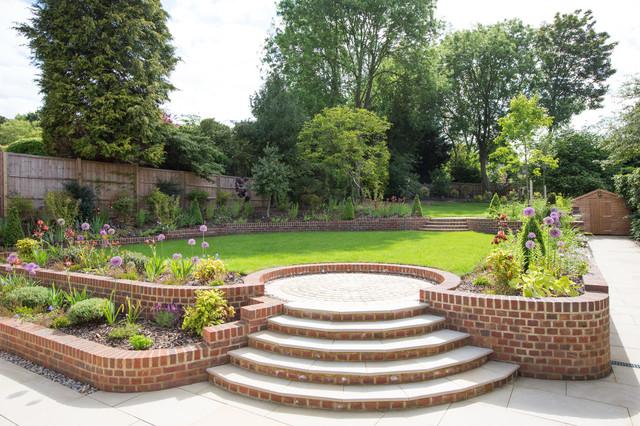 Harpenden Garden Traditional Landscape Hertfordshire