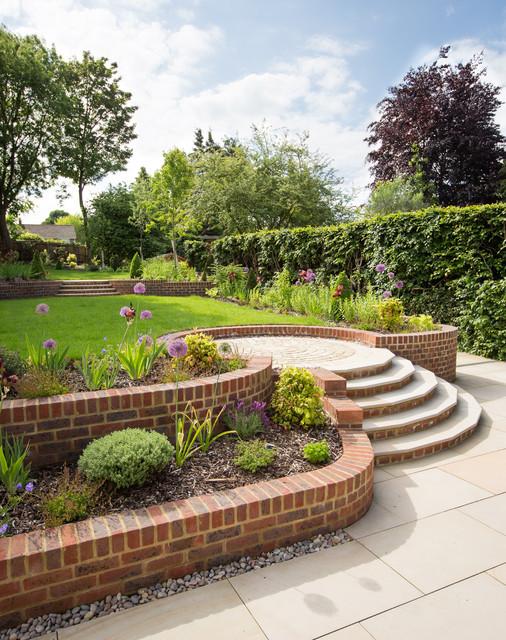 Harpenden Garden Traditional Garden Hertfordshire