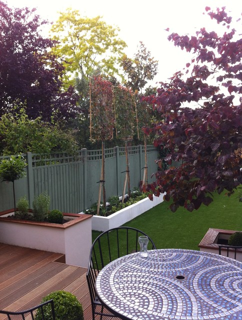 Herne hill family garden for Houzz landscape architects