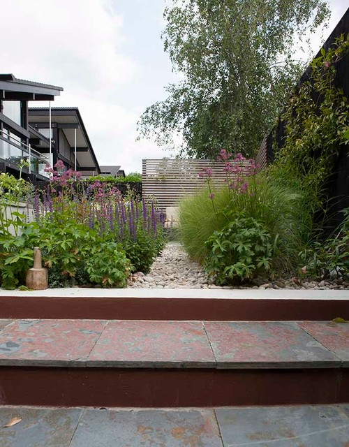 Kate Davidson Landscape Architecture Garden Design : Huf house garden design dulwich contemporary