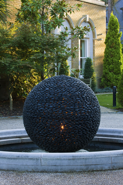 Illuminated Garden Sculpture