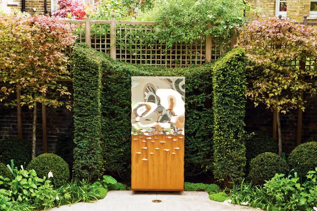 indoor sculpture contemporain jardin oxfordshire par david harber. Black Bedroom Furniture Sets. Home Design Ideas