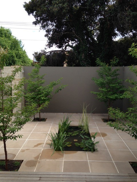 Inner city traditional landscape adelaide by for Landscape contractors adelaide
