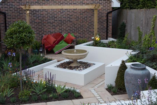 Islamic Courtyard Garden Mediterranean Garden Hertfordshire