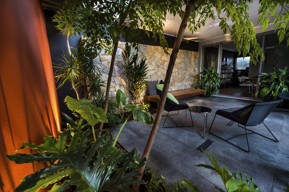 karrinyup courtyards - Contemporary - Landscape - Perth ...