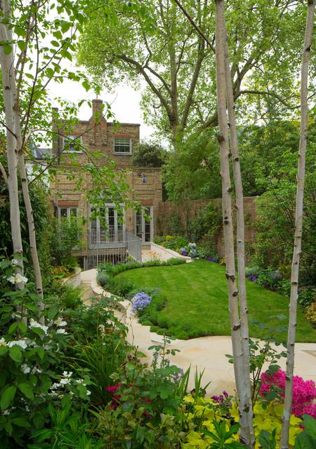Kensington Town House - Clásico - Jardín - Londres - de Bartholomew ...