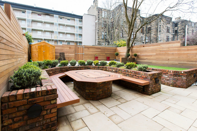 Kingsborough Gardens 1 - Contemporary - Garden - Glasgow ...